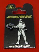 Disney Enamel Pin Badge Star Wars The Last Jedi Judicial Stormtrooper on Card