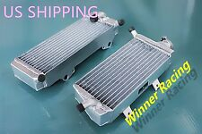 Right+Left Aluminum Alloy Radiator Fit HONDA CRF450X 2005-2009-2017 BRACED 2016