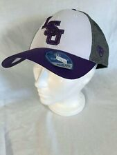 LSU Top of the World White, Grey, and Purple One Fit Baseball Cap