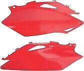 UFO Plastics Side Panels - Red HONDA CRF250R 2010 CRF450R 2009-2010 HO04638-070