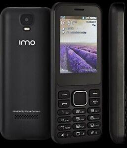 BRAND NEW IMO Dash Verve Connect 3G Mobile Phone Unlocked Black Colour