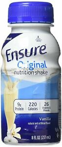 Ensure Complete Balanced Nutrition Homemade Vanilla Shake - 8 oz (6 Pack)