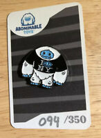 """I Chomp NY"" Abominable Toys Pin NYCC 2019 Exclusive Plastic Empire LE 094/350"