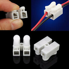 10pcs Self Locking Electrical Quick Splice Cable Connectors Lock Wire Terminals