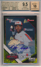 2014 Bowman Under Armour American /225 Ke'Bryan Hayes RC BGS 9.5 10 Auto POP 5