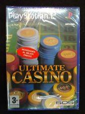 Ultimate Casino para play 2 Nuevo y precintado PAL