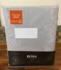 HUGO BOSS Cotton Satin King Size Fitted Bedsheet 150/200cm