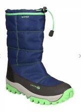 PR* Geox Kids Himalaya Snowboots Navy Green SIZE UK 1/EU 33