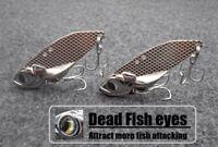 wLure Blade Lure Metal Fishing Lures For Bass Fishing Vertical Jigging BL4
