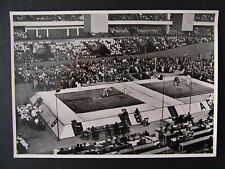 Sammelbild Olympia 1936 Ringen Deutschlandhalle - b6933