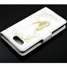 Phone Leather Skin Butterfly Stand Cover Case For Sony Xperia Z3 Mini Compact