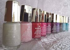 New MAVALA MINI Nail Polish Cream Pearl Lacquer *Lot/10 POPULAR COLORS* Stocking
