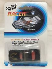 Die Cast Metal Racer 77-78 Black Trans Am Super Wheels New In Package