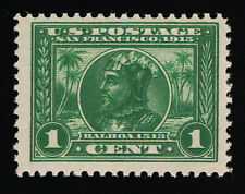 AFFORDABLE GENUINE SCOTT #397 FINE MINT OG NH 1¢ PERF-12 PAN-PACIFIC EXPO ISSUE