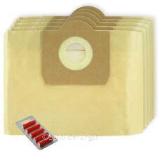 5 X NILFISK Bolsas Para Aspiradoras Hoover filtro de bolsa Forrado Aero Silent fresca