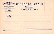 923) ANCONA, MANIFATTURA TESSUTI VINCENZO ANELLI, COPERTE, TELE DI LINO.