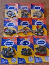 9 SYDNEY OLYMPIC PINS Pewter with mascots