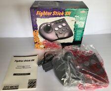 Vintage ASCIIWARE SNES Super Nintendo Fighter Stick SN Controller. ONS.