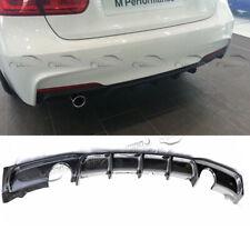 Carbon Fiber Rear Bumper Diffuser Lip For BMW F30 328 330i 335i MSport 2012-2019