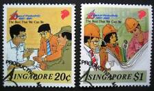 Pre-cancelled Singapore Stamps - 10th Anniversary of the Productivity Movement