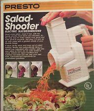 Presto Salad Shooter Electric Slicer Shredder Grater 02910 BRAND NEW SEALED!!