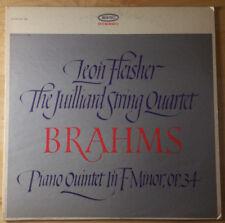Johannes Brahms - Juilliard String Quartet / Leon Fleisher - VG+/VG+ - Demo