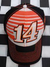Tony Stewart #14 NASCAR Ball Cap Hat NEW Stewart-Haas orange white black