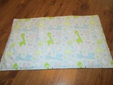 New - Little Giraffes Print Handmade Quilted Baby Bassinet, Changing Pad