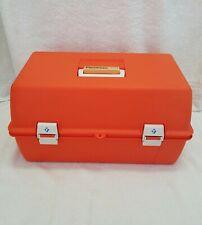 Flambeau 2072 Vintage Tackle Box, Drug Kit 2 Shelf EMS EMT Paramedic Box
