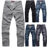 Rock Creek Herren Designer Jeans Hose Denim Stretch Jeanshose W29-W44 NEU M2