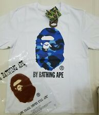 Mens Bape T Shirt Big Blue Ape A Bathing Ape Size Large