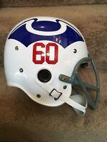 Riddell Kra-Lite RK2 Suspension Football Helmet 1960 Boston Patriots New Eng
