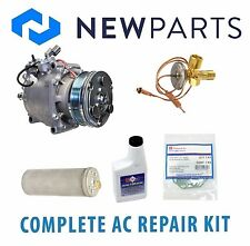 Honda Civic 92-93 1.5L 1.6L Complete A/C Repair Kit New Compressor with Clutch