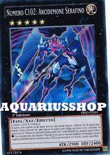 Yu-Gi-Oh! Numero C102 Arcidemone Serafino PRIO-IT044 SuperRara ITA Number Seraph