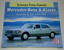 Schrader Typen Chronik Mercedes W126 260 280 300 380 420 500 560 SE SEL SEC