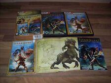 Titan Quest+Immortal Throne = Gold Edition Bigbox PC mit Soundtrack Poster usw.