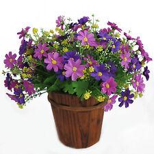 1 Bunch 28 Heads Artificial Fake Silk Daisy Flower  Home Garden Party Decoration
