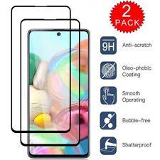 For Samsung Galaxy A10E A20 A50 A20S A30S A51 A71 Full Coverage Screen Protector