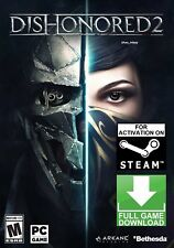 Dishonored 2 PC + Imperial Assassins DLC (NO CD/DVD) GLOBAL STEAM GAME FAST SENT