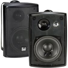 Indoor Outdoor Speakers Bookshelf Studio Monitor Speakers Swivel Brackets 100W