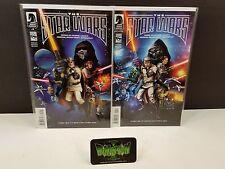 Star Wars Lucas Draft #1 1:25 and 1:40 Doug Wheatley Variants Dark Horse Comic