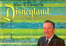 "Walt Disney's Guide to Disneyland ""Magic Kindom"" Booklet Anaheim California 1964"