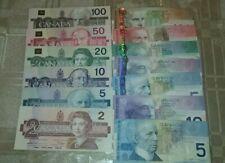 Canada 2 5 10 20 50 100 Dollars 1986 2005 Birds of Canada Journey Paper Money VF
