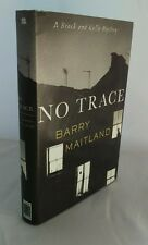 No Trace by Barry Maitland (Hardback, 2006), SIGNED