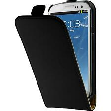 Artificial Leather Case for Samsung Galaxy S3 Neo Flip-Case black