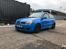 Renault Clio 182 Cup Racing Blue Track car