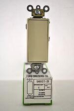 Leviton 56021-2I Low Voltage Decora Single Pole Switch 3 Amp, 24 Volt AC/DC