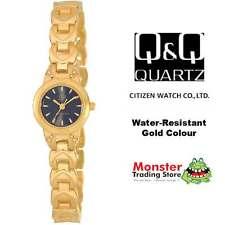 AUSSIE SELER LADIES DRESS WATCH CITIZEN MADE GOLD COLOUR F353-002 P$99.9 WARANTY