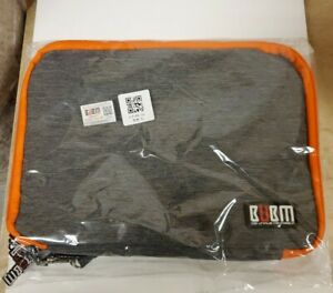 BUBM Universal Travel Double Layer Digital Storage Bag Cable Organizer With Hand