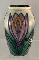 1998 Moorcroft T Vase Floral TRAINEE Vase Used For Training Tubliners & Painters